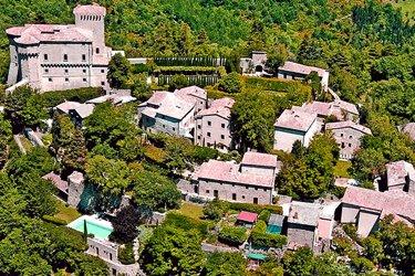 Il Castello di Fighine a San Casciano dei Bagni