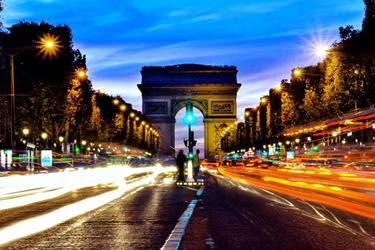 Gli Champs-Élysées a Parigi