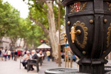 La fontana di Canaletes