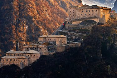 Il Forte di Bard ad Aosta