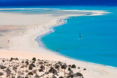 Isola di Fuerteventura nelle Canarie