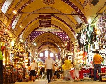 Il Grand Bazaar di Istanbul