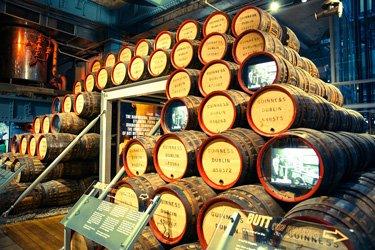 Guinness Store House di Dublino