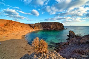 Isola di Lanzarote alle Canarie