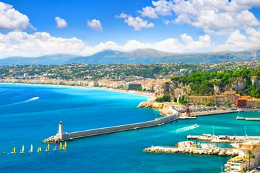 Nizza in Costa Azzurra