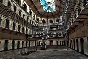 La prigione di Kilmainham Gaol a Dublino