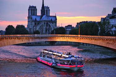 Il tour sulla Senna di Parigi