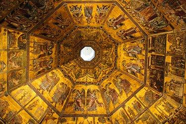 La cupola del Battistero di Firenze