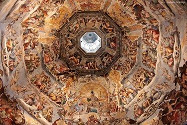 I meravigliosi affreschi della Cupola
