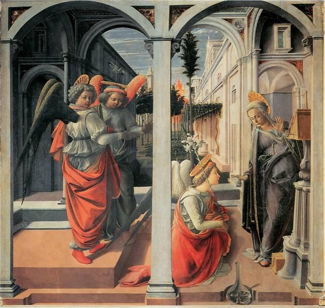 L'Annunciazione Martelli di Filippo Lippi
