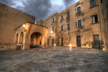 L'interno di Castel dell'Ovo
