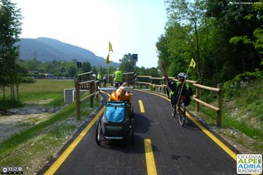 La Ciclovia Alpe Adria Radweg ad Aquileia