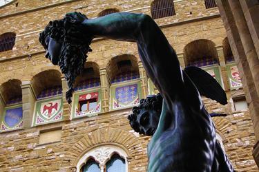 La Loggia dei Lanzi a Firenze