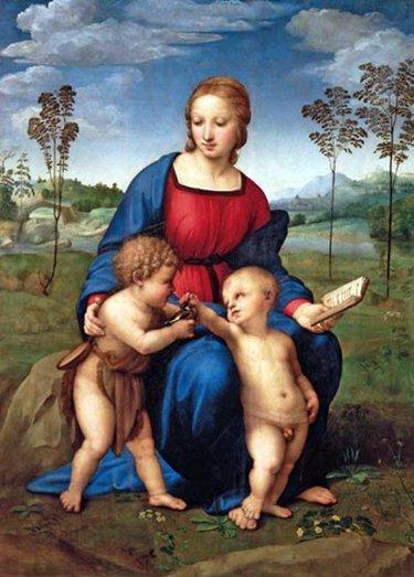 La Madonna del Cardellino di Raffaello