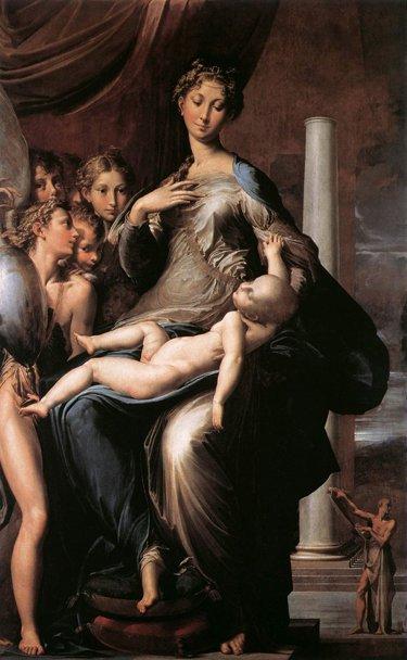 La Madonna dal collo lungo del Parmigianino