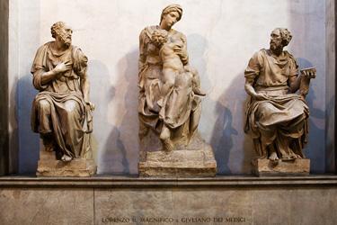 La Madonna Medici di Michelangelo