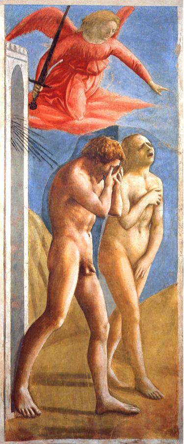 La cacciata di Adamo ed Eva di Masaccio
