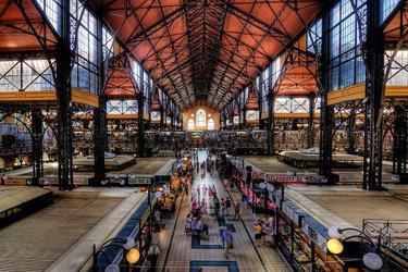 Il Mercato Coperto Centrale di Budapest