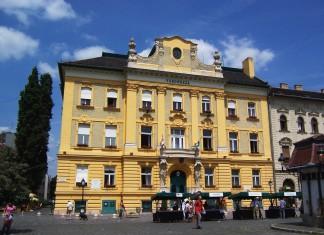 Il Palazzo del Municipio a Obuda