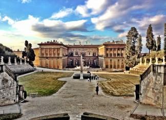 Il Palazzo Pitti a Firenze