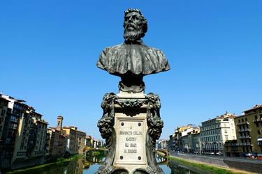 Il busto di Benvenuto Cellini