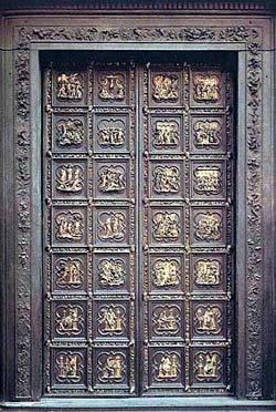 La Porta sud del Battistero