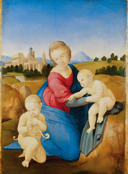 La Pinacoteca con Raffaello, Rubens, Durer, Goya e altri