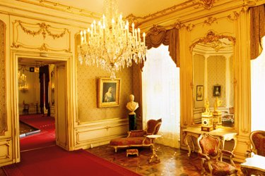 Le stanze della Principessa Sissi allo Schonbrunn