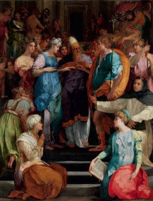 Lo Sposalizio della Vergine di Rosso Fiorentino