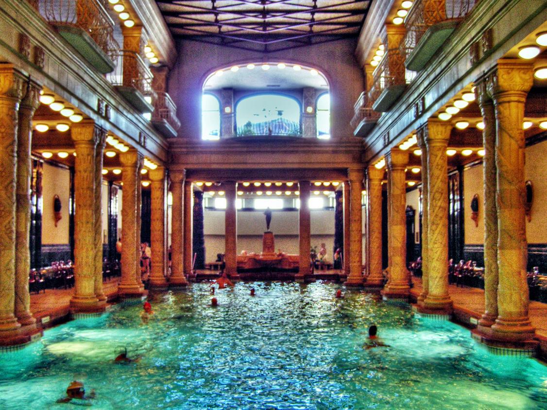 I Bagni Gellert di Budapest