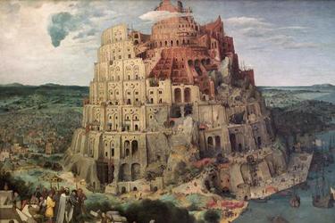La Torre di Babele di Bruegel il Vecchio