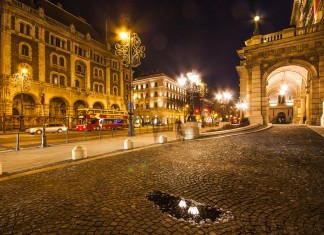Il Viale Andrássy a Budapest