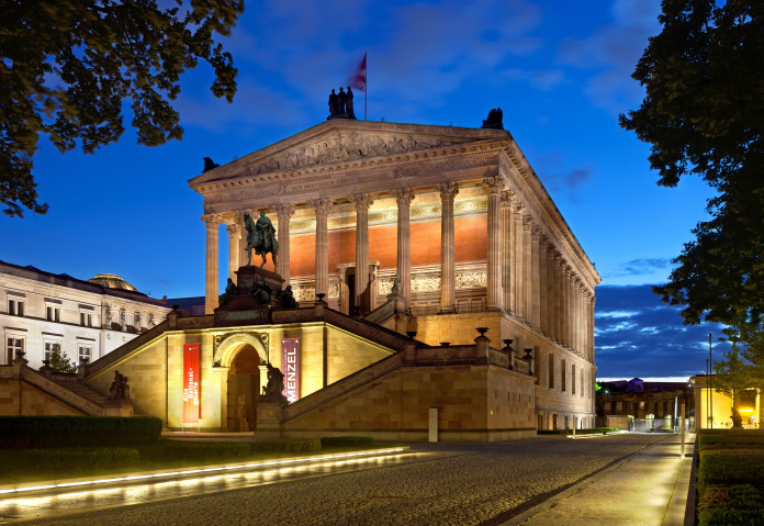 La Alte Nationalgalerie a Berlino