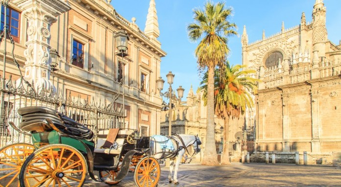 La Cattedrale e la Giralda di Siviglia