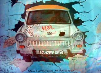Il Muro di Berlino-Est Side Gallery