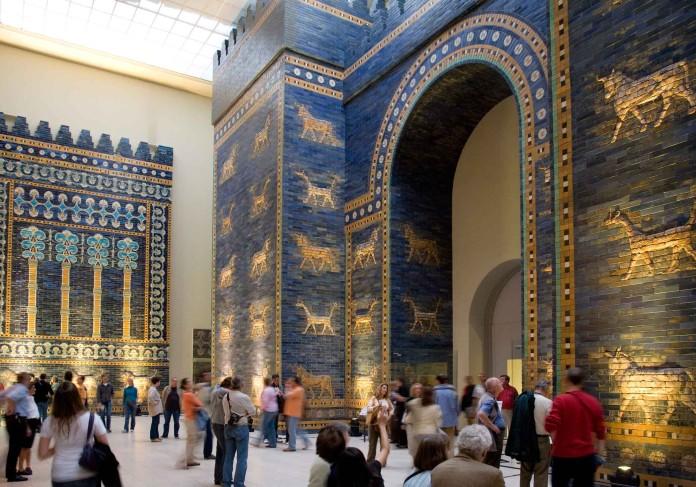 Berlino il museo di pergamo a berlino - Porta di mileto ...