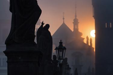 Le statue del Ponte Carlo di Praga