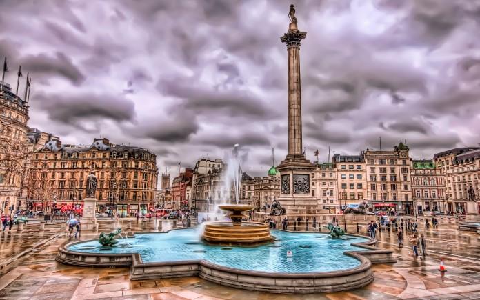 Trafalgar Square a Londra