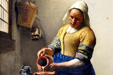 Vermeer al Rijksmuseum di Amsterdam