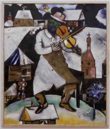 Il Violinista di Chagall