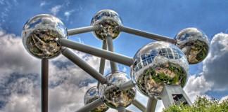 Atomium e Parco Laeken a Bruxelles