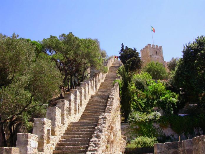 Il Castello di San Giorgio a Lisbona