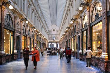 La Galleria Saint Hubert a Bruxelles