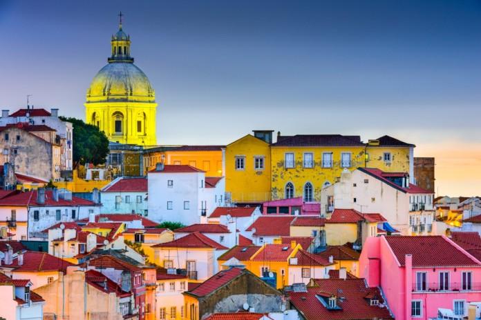 Il quartiere dell'Alfama a Lisbona