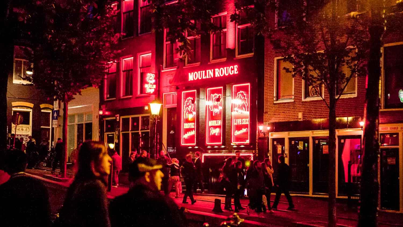 Quartiere a luci rosse di amsterdam