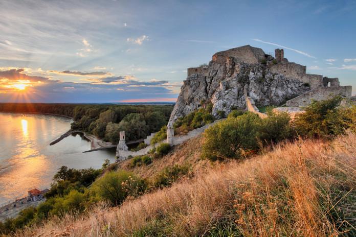 Il Castello di Devin a Bratislava