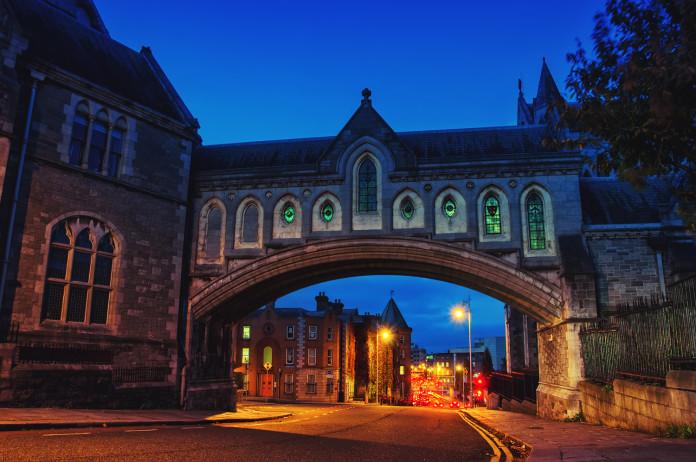 La Christ Church Cathedral a Dublino
