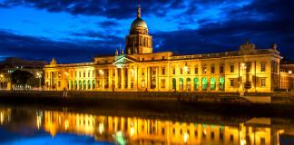 La Custom House a Dublino
