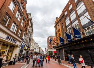 Grafton Street a Dublino