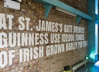 Guiness Storehouse a Dublino.